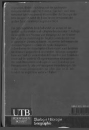 Walter und Breckle - 1999 - Vegetation und Klimazonen  Grundriß der globalen