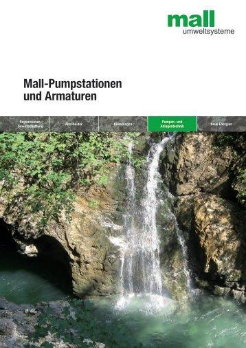 Planerhandbuch Mall-Pumpstationen und Armaturen - Mall GmbH