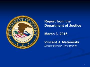 March 3 2016 Vincent J Matanoski