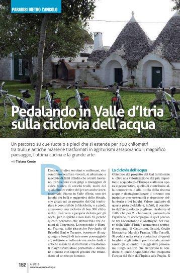 Pedalando in Valle d'Itria sulla ciclovia dell'acqua