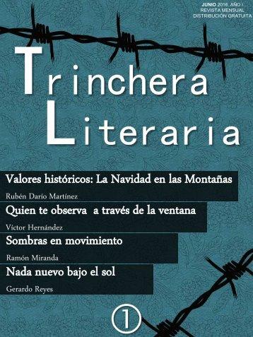 Trinchera_Literaria_Primer_Número_Junio_2016