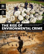 THE RISE OF ENVIRONMENTAL CRIME