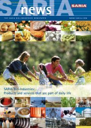 news - Saria Bio-Industries AG & Co. KG