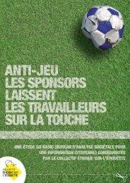STOP À L'ANTI-JEU !