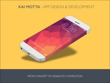 KAI MOTTA - APP DESIGN & DEVELOPMENT