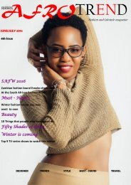 Afrotrend Magazine 4th issue