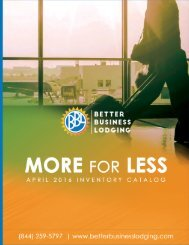 More For Less APRIL2016
