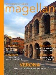 Revista de viajes Magellan - Junio 2016