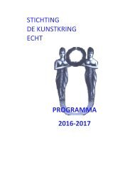 programma 2016 2017