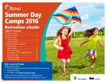Summer Day Camps 2016