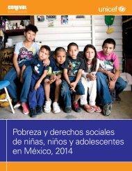 Pobreza y derechos sociales de niñas niños y adolescentes en México 2014