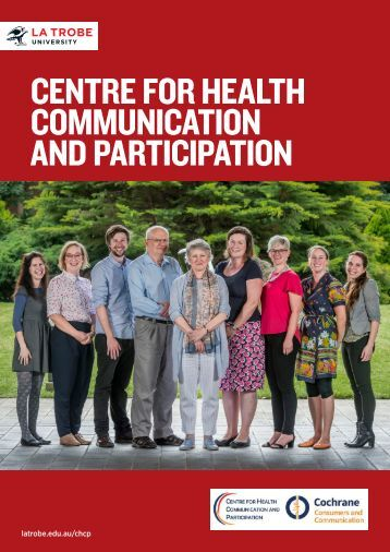 CENTRE FOR HEALTH COMMUNICATION AND PARTICIPATION