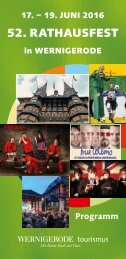 Rathausfest 2016_Programm