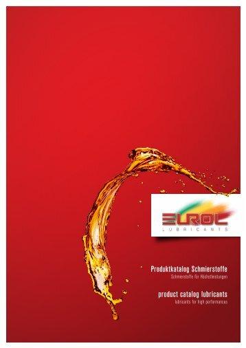 Eurol Produktkatalog