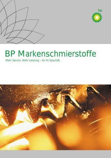 BP Produktsortiment