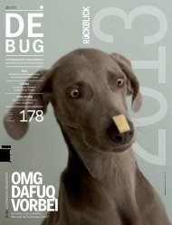 De:Bug 178