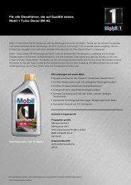 Produkt sheet TD 0W-40