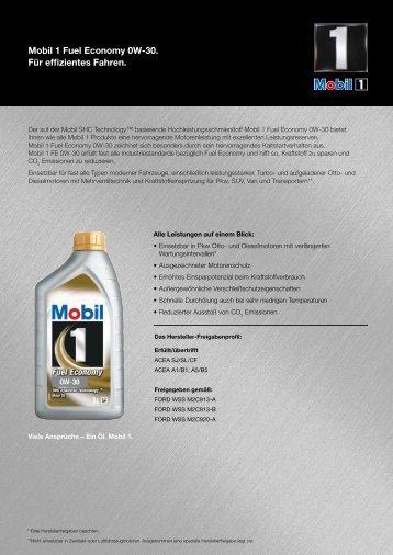 Product sheet 0W-30