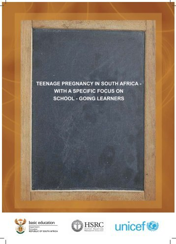 Teen pregnancy in RSA_Department of Basic Education_2009