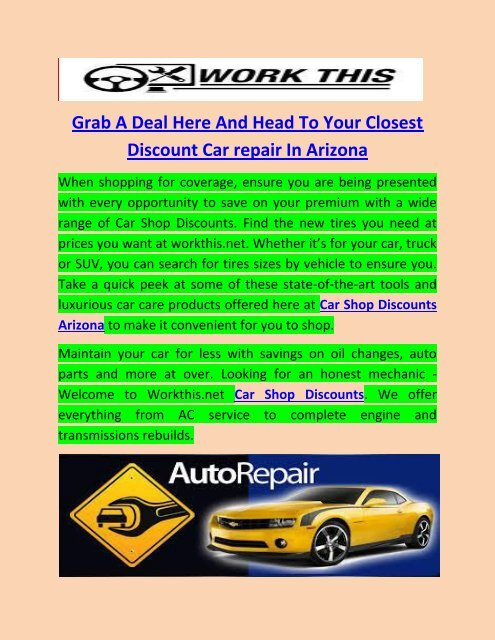 Closest Discount Tire >> Grab A Deal Here And Head To Your Closest Discount Car