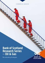 Bank of Scotland Research Series – Oil & Gas