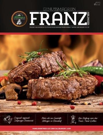 Ablinger Kundenmagazin FRANZ 02