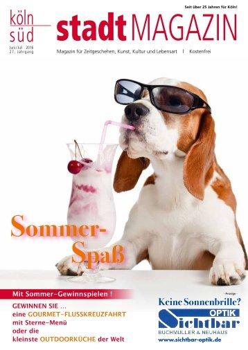 stadtMAGAZIN köln-süd | Ausgabe Juni-Juli