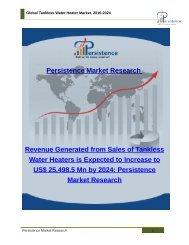 Global Tankless Water Heater Market, 2016-2024