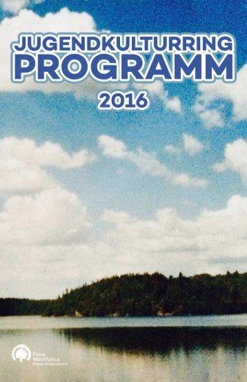 JKR Programmheft 2016