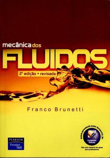 Livro - Mecânica dos Fluidos - Franco Brunetti