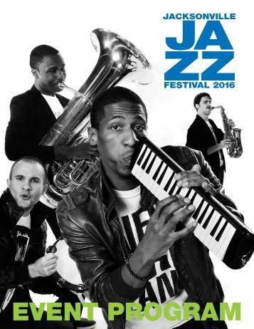Jacksonville Jazz Festival 2016 Program