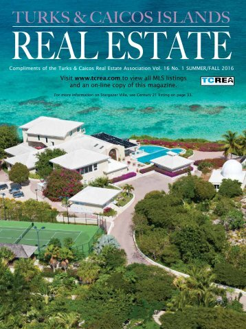 Turks & Caicos Islands Real Estate Summer-Fall 2016