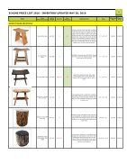 Bhome catalog wholesale stools - Page 2