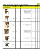 Bhome catalog wholesale stools - Page 3