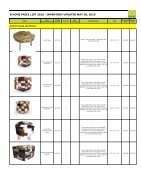 Bhome catalog wholesale stools - Page 5