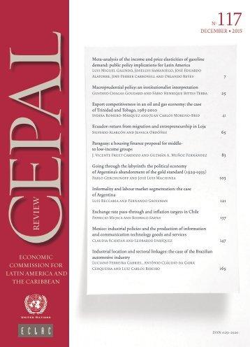 CEPAL Review no. 117