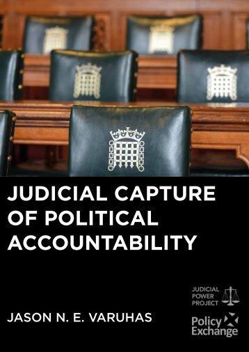 JUDICIAL CAPTURE OF POLITICAL ACCOUNTABILITY