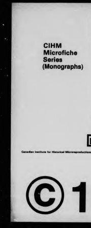 Microfilm Monographs