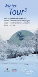 Wintertour Flyer 2012 | Fraport AG - Primus-Linie