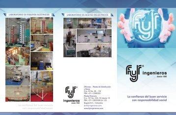 FyR Ingenieros - Servicios 2016