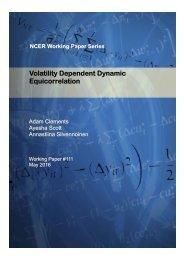 Volatility Dependent Dynamic Equicorrelation
