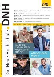 Die Neue Hochschule Heft 3/2016