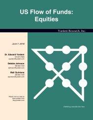 US Flow of Funds Equities