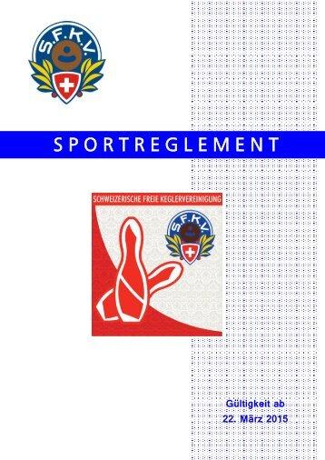 2015 - SFKV Sportreglement