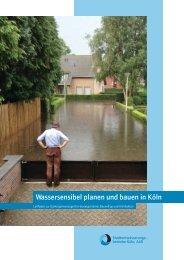 Wassersensibel planen und bauen in Köln