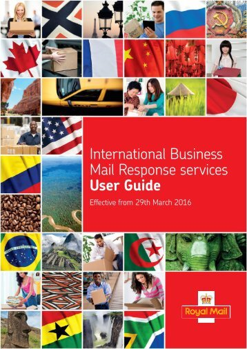 International Business Mail Response services User Guide