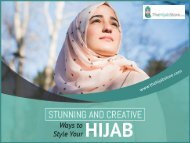 Different Styles of Wearing Hijabs
