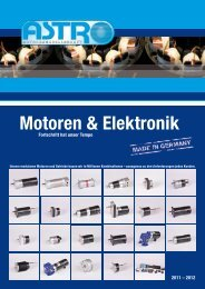 Motoren & Elektronik - ASTRO Motorengesellschaft