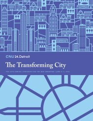 The Transforming City