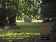 Konsten i den gamla kulturstenen   Del III   Block och Blandat i Storvretabygden   Sven-Inge Windahl   2016